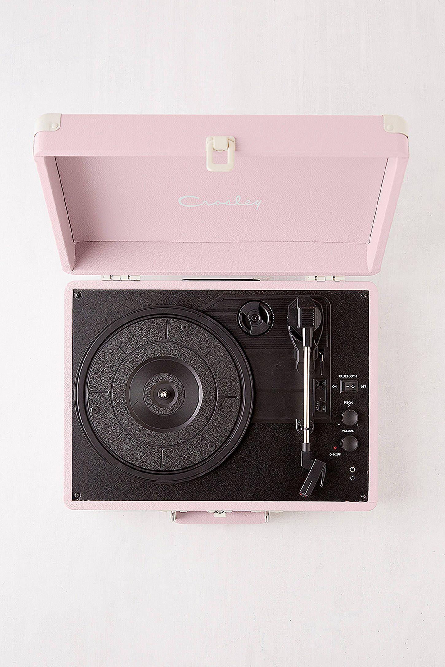 Crosley Lilac Cruiser Bluetooth Record Player Bluetooth Record Player Record Player Vinyl Record Player