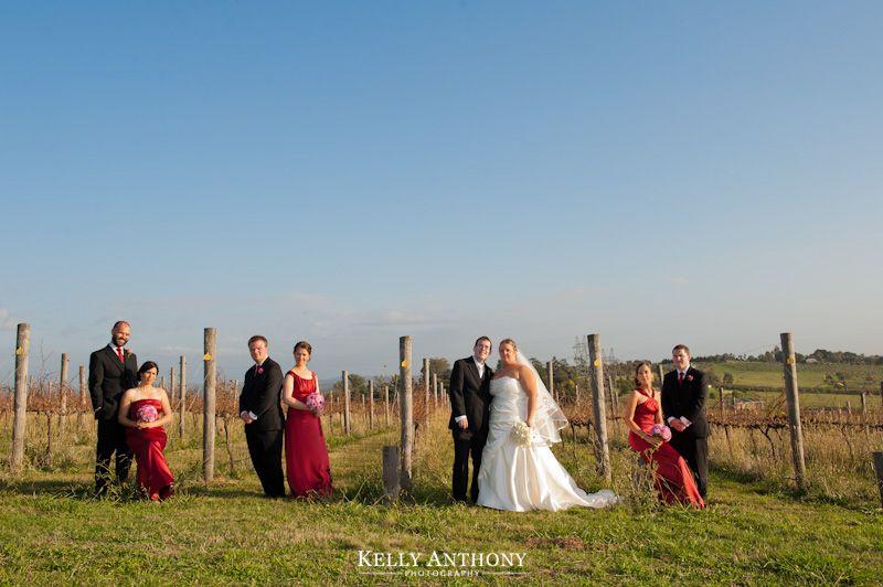 Kelly Anthony Photography  www.kellyanthony.com  Wedding Photography  Samson Hill Winery, Melbourne