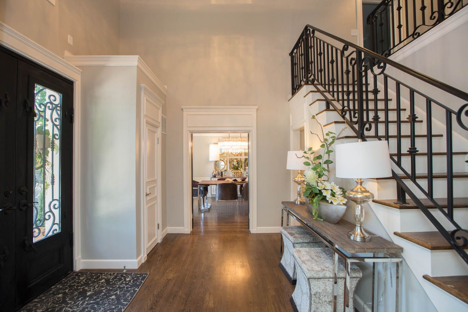 Beautiful Entry This Midtown Tulsa Home Was Completely Renovated