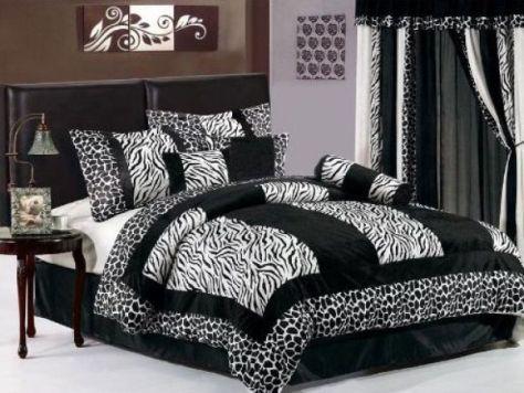 Zebra Print Bedroom Ideas: Zebra Print Furniture ~ pedantique.com ...