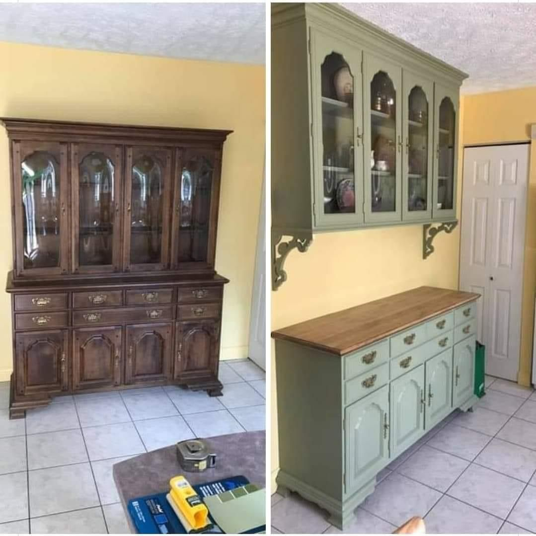 Kitchen Cabinets In 2020 China Cabinet Cabinet Repurposed China Cabinet
