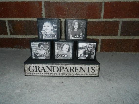 Christmas Gift, Grandparent Gift, Unique gift, Custom-made and fully ...