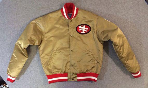 657fb953 49ERs STARTER Jacket 80's Vintage/ OFFICIAL San Francisco Forty ...