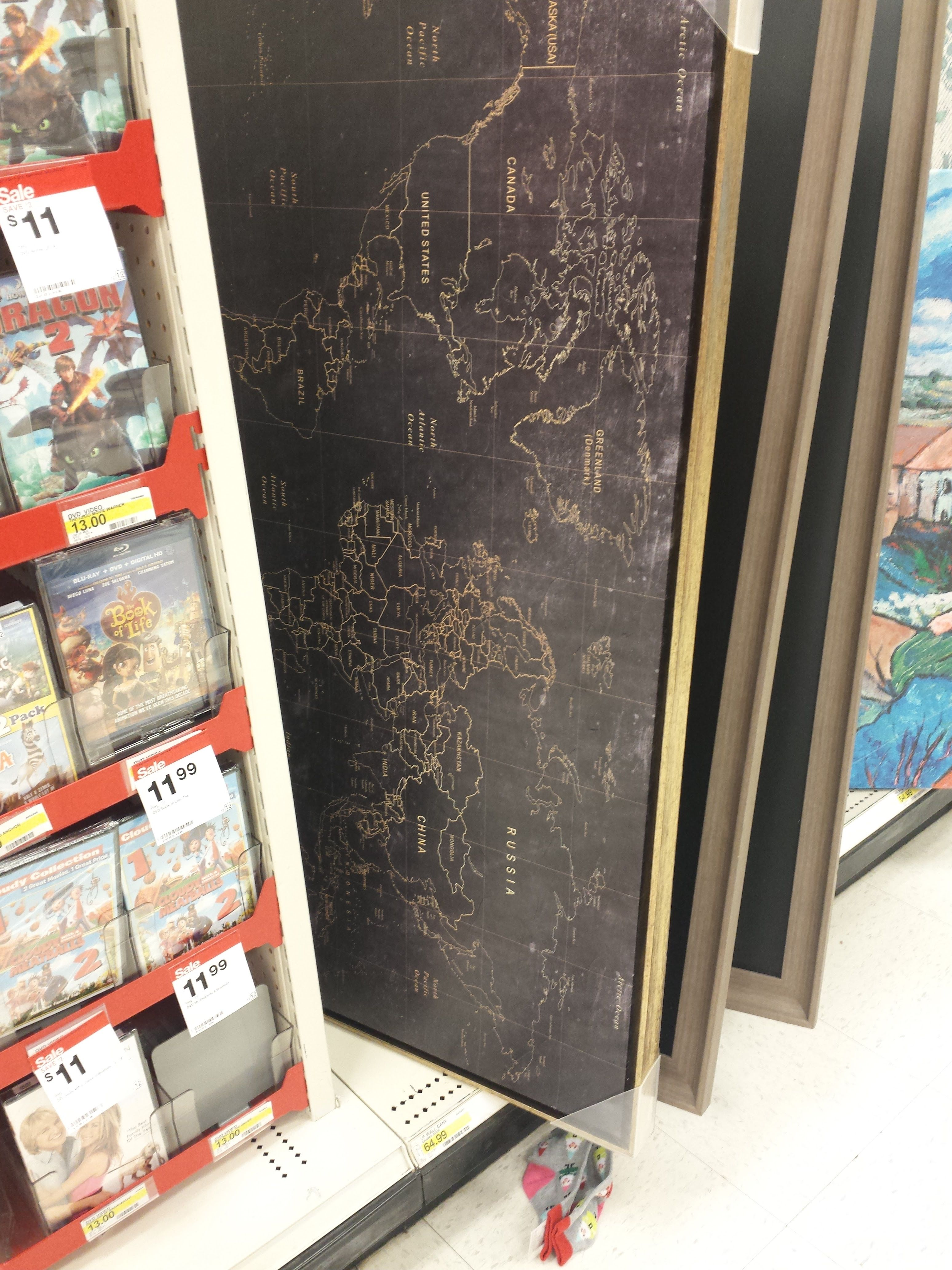 Gold and black world map found at target office pinterest target gold and black world map found at target gumiabroncs Images