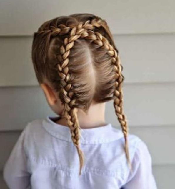 Little White Girl Braids 2019 Kids Braided Hairstyles White Girl Braids Little Girl Braid Hairstyles