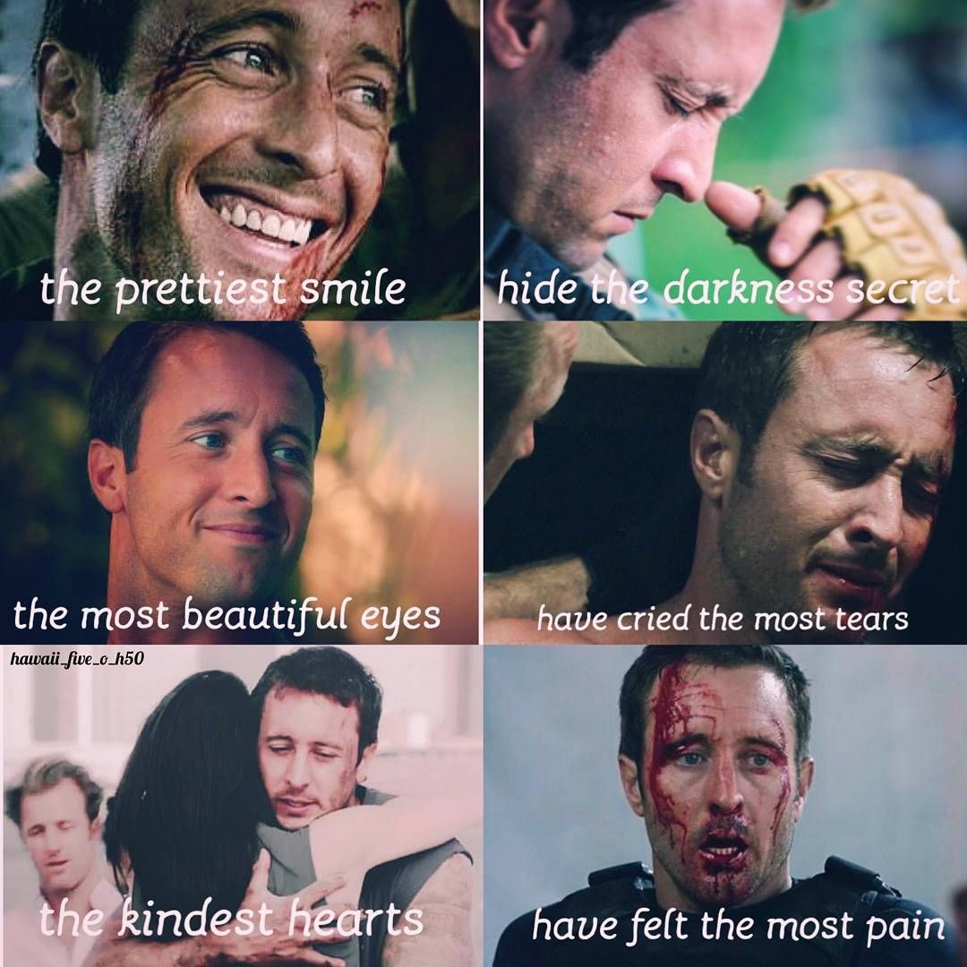 Steve Mcgarrett Is Such A Strong Person