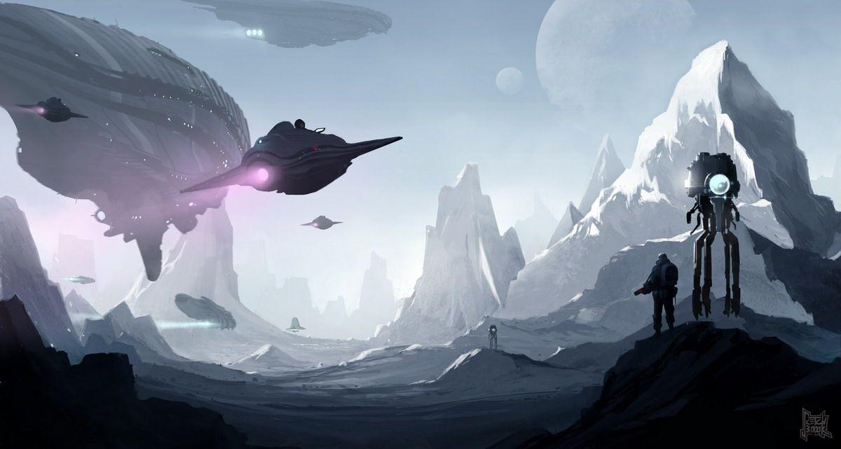 Invasion fleet by sketchboook.deviantart.com on @deviantART