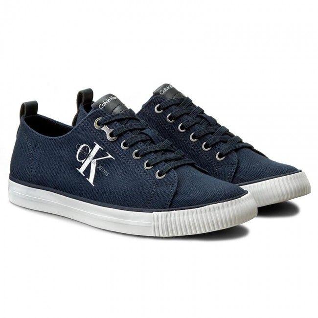 9f28585288c Πάνινα παπούτσια CALVIN KLEIN JEANS - Arnold S0369 Navy | ΕΝΔΥΣΗ ...