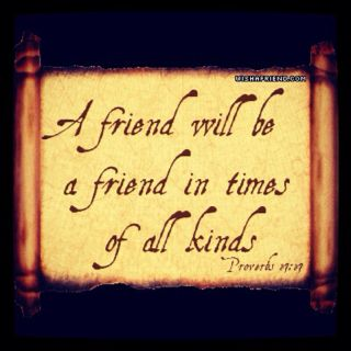a perfect friend need