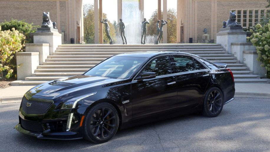 2017 Cadillac Cts V Drivers Notes Is For Velocity Autoblog
