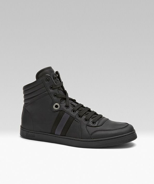 2639de9902f Loving these  Gucci Viaggio Men s High-Top Sneakers for my trip to  Guangzhou  gucciviaggio