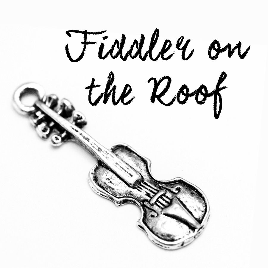 Musical Theatre Jewelry-Fiddler on the Roof This Fiddle
