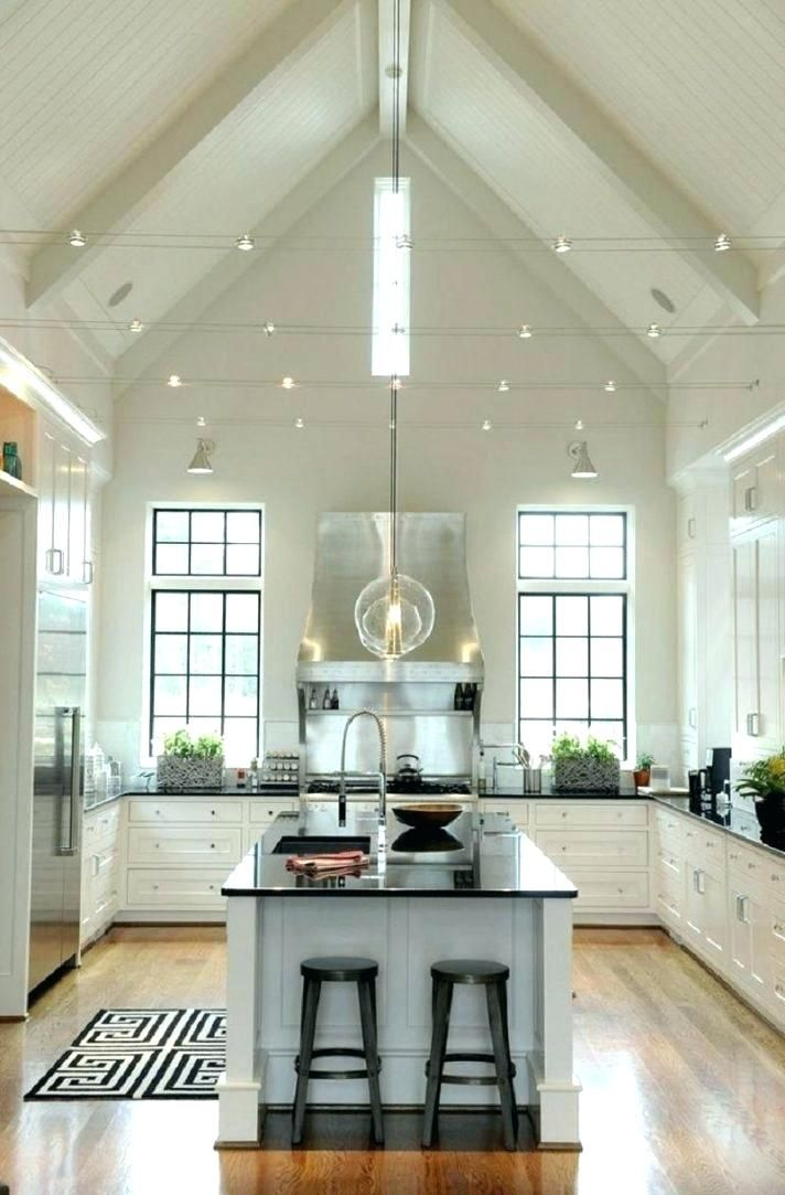 Cathedral Ceiling Lighting Ideas