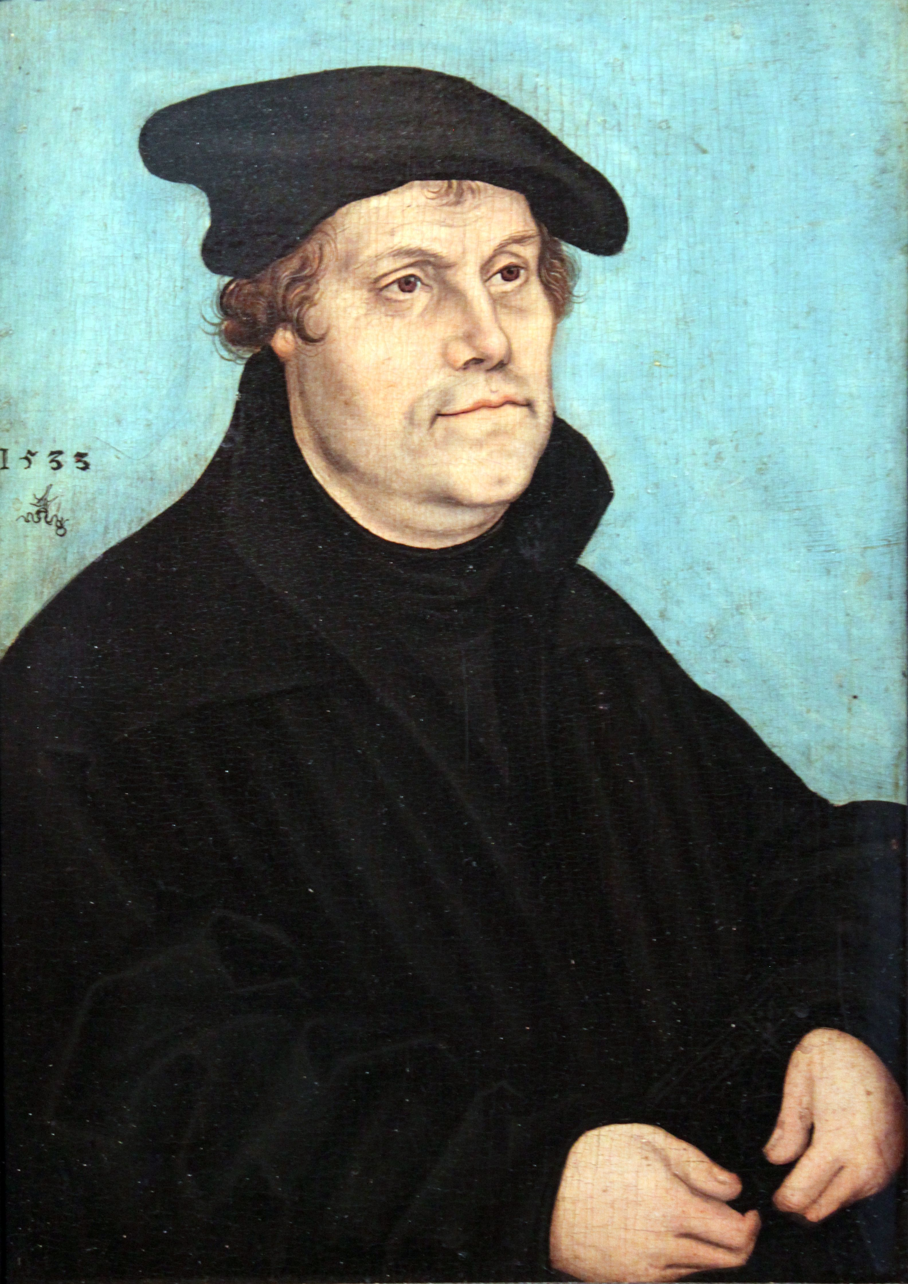 Martin Luther Born A Day Before St Martin S