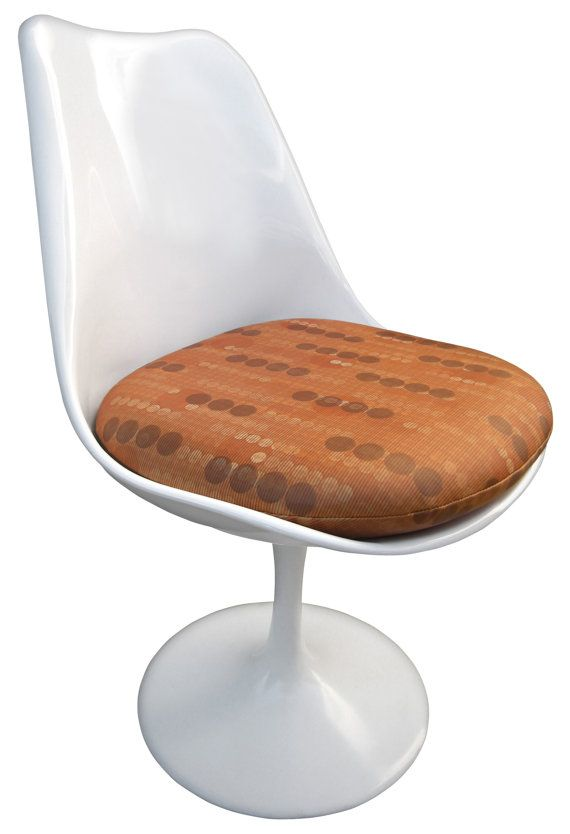 Retro Replacement Cushion For Saarinen Or Burke Tulip Side Chair