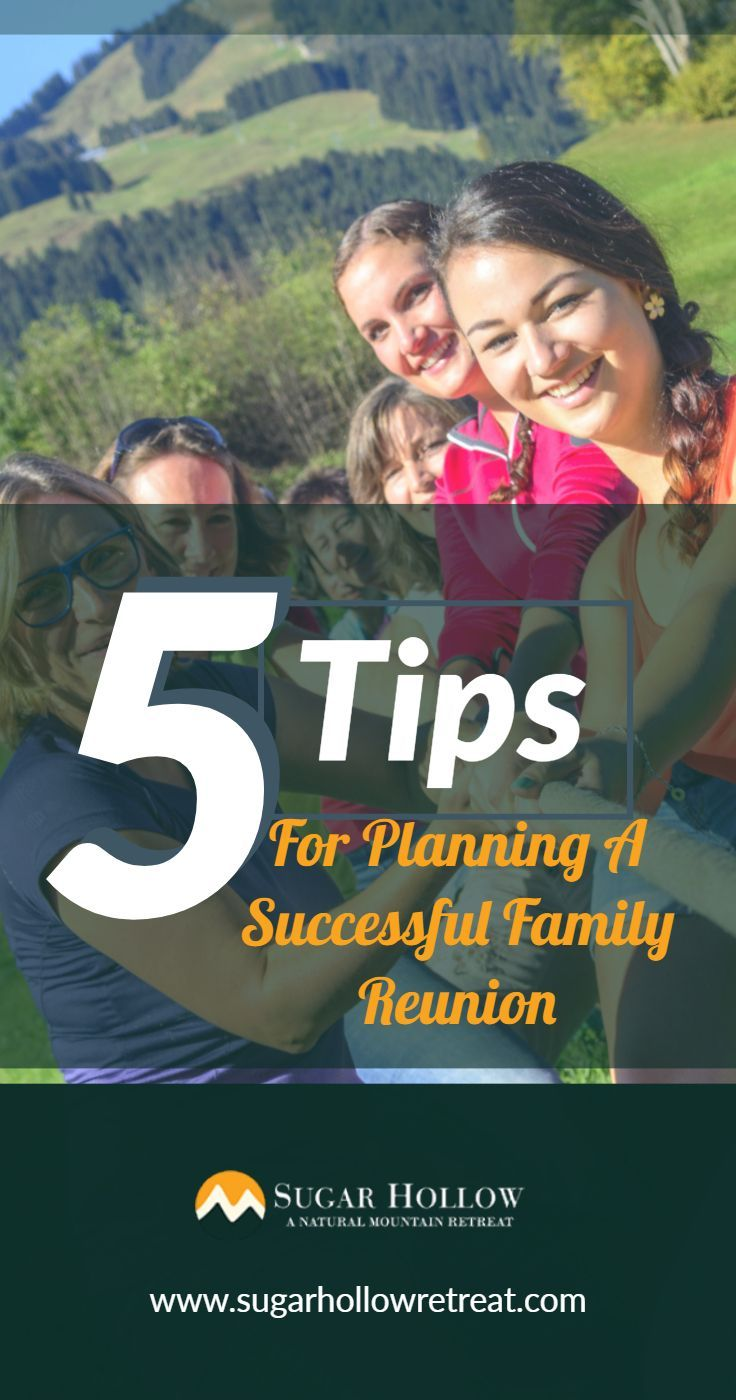 5 Tips For Planning A Successful Family Reunion Family
