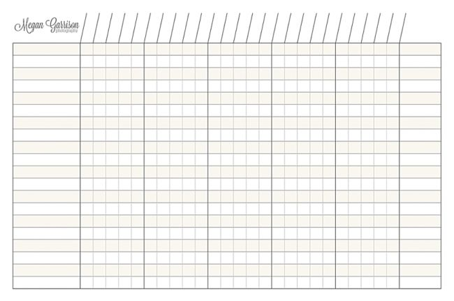 Working Wednesday Workflow Chart Printable Graph Paper Printable Chart Template Printable