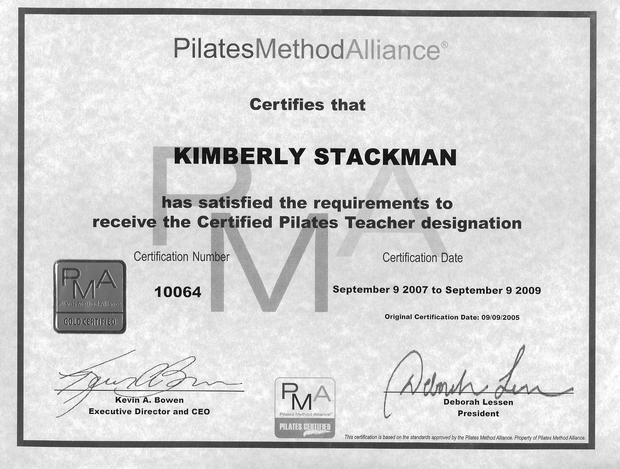 Pilates Training Certificate  My Yahoo Image Search Results  Ney