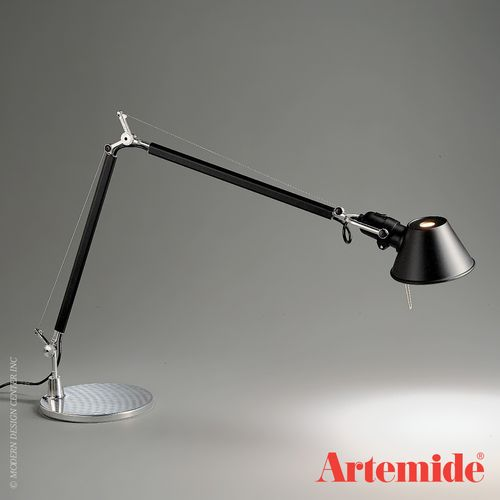 Artemide Tolomeo Classic Table Lamp Tolomeo Lamps Table Lamp Black Table Lamps Black Lamps