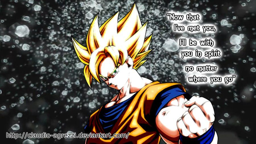 Goku Quotes Goku Quotes | Goku Wallpaper by Claudio Agrezzi | goku  Goku Quotes