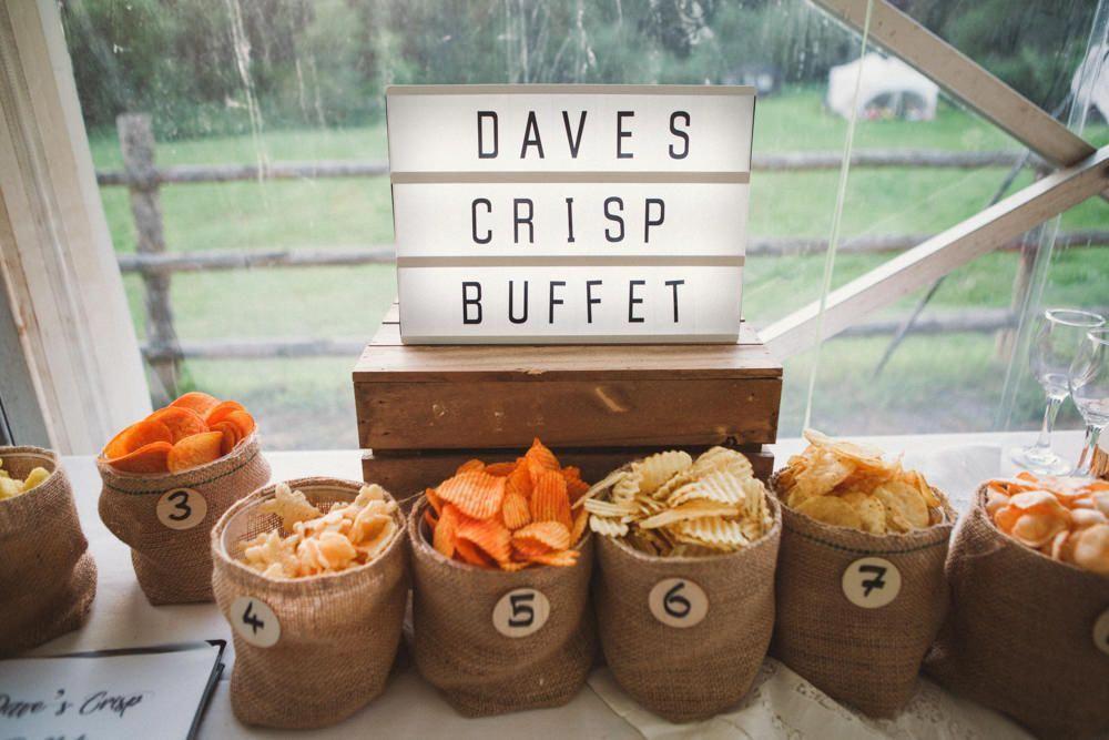 Crisp Buffet Tasting Notes Middle Coombe Farm Wedding Emma Stoner Photo #Crisp #Buffet #Tasting #Notes Table Bar #table #bar #cupcakesforweddingreception