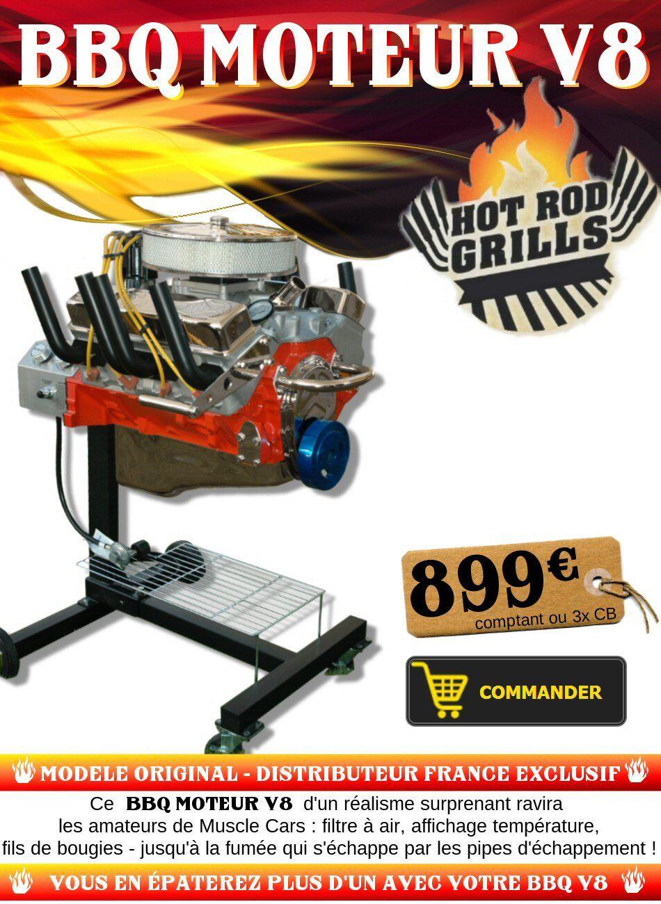 BBQ Moteur V8 ! exclusivité Toopneus