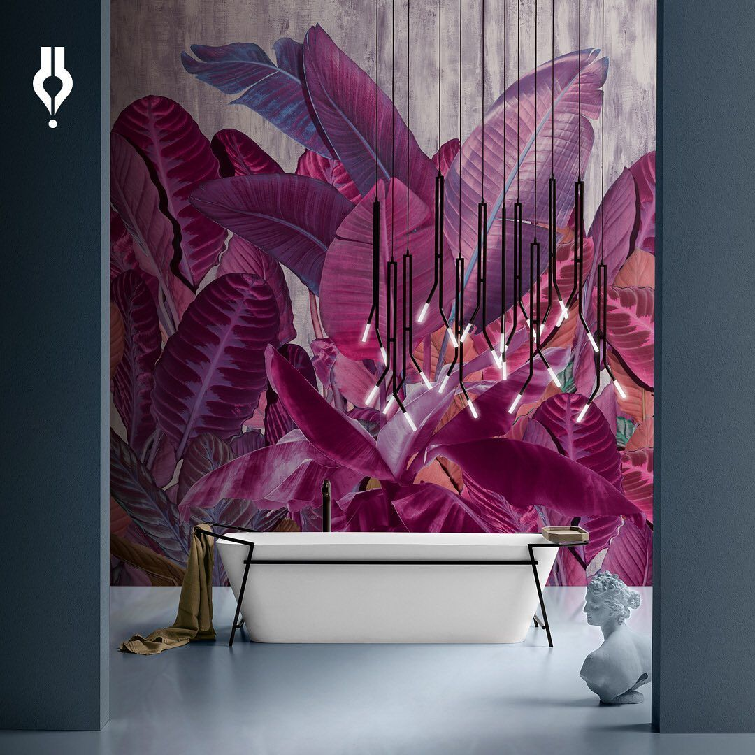 Inediti Is Unpredictable Energetic Elegant And Ironic We Have A Lot More To Tell You About The Most Cr Wallpaper Interior Design Vinyl Wallpaper Wallpaper