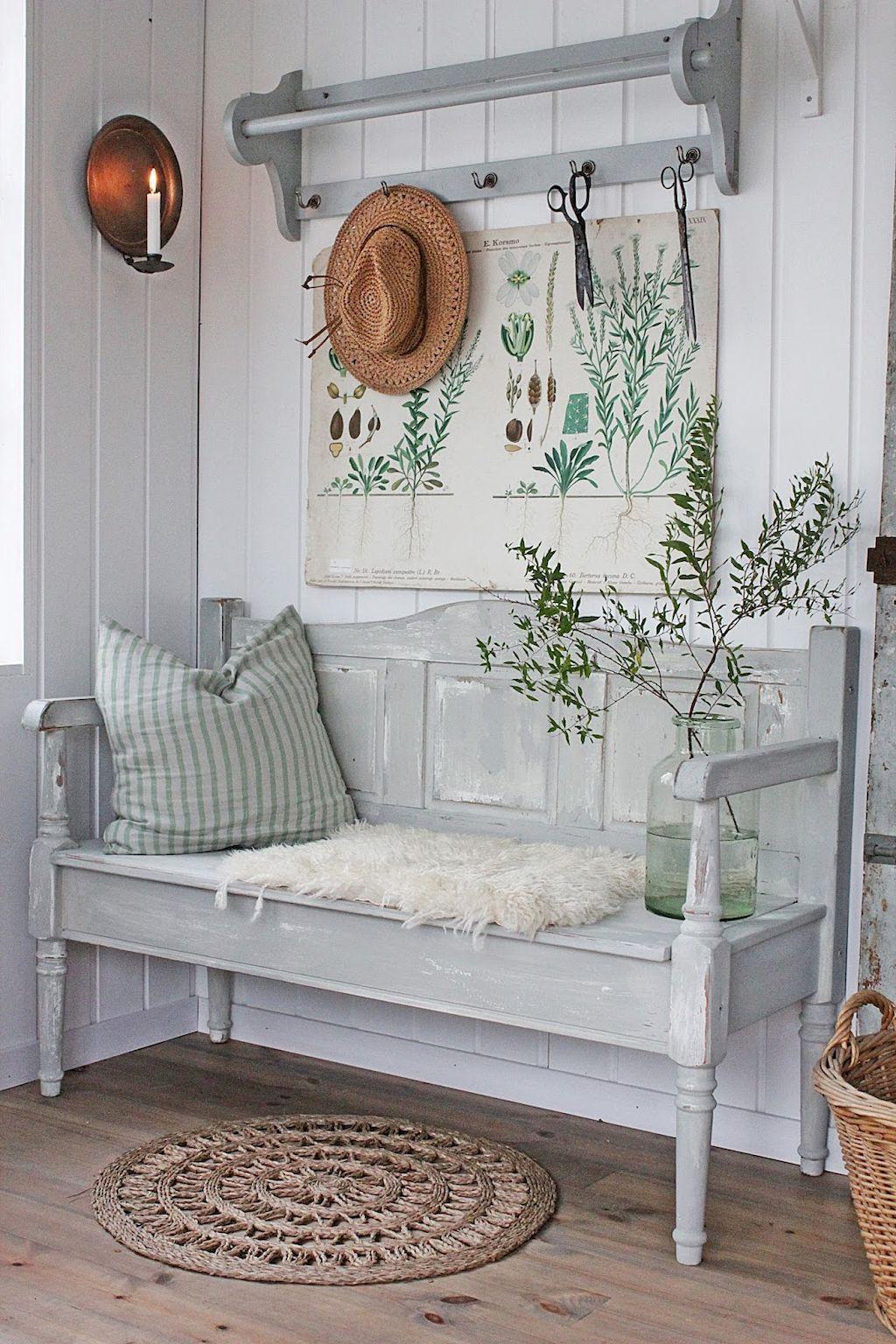75 Best Farmhouse Entryway Decorating Ideas | Farmhouse style, House ...