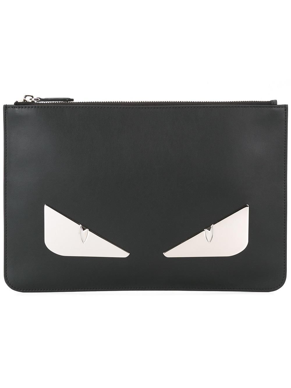 #fendi #new #bagbugs #clutch #pouchette #black #white #men www.jofre.eu
