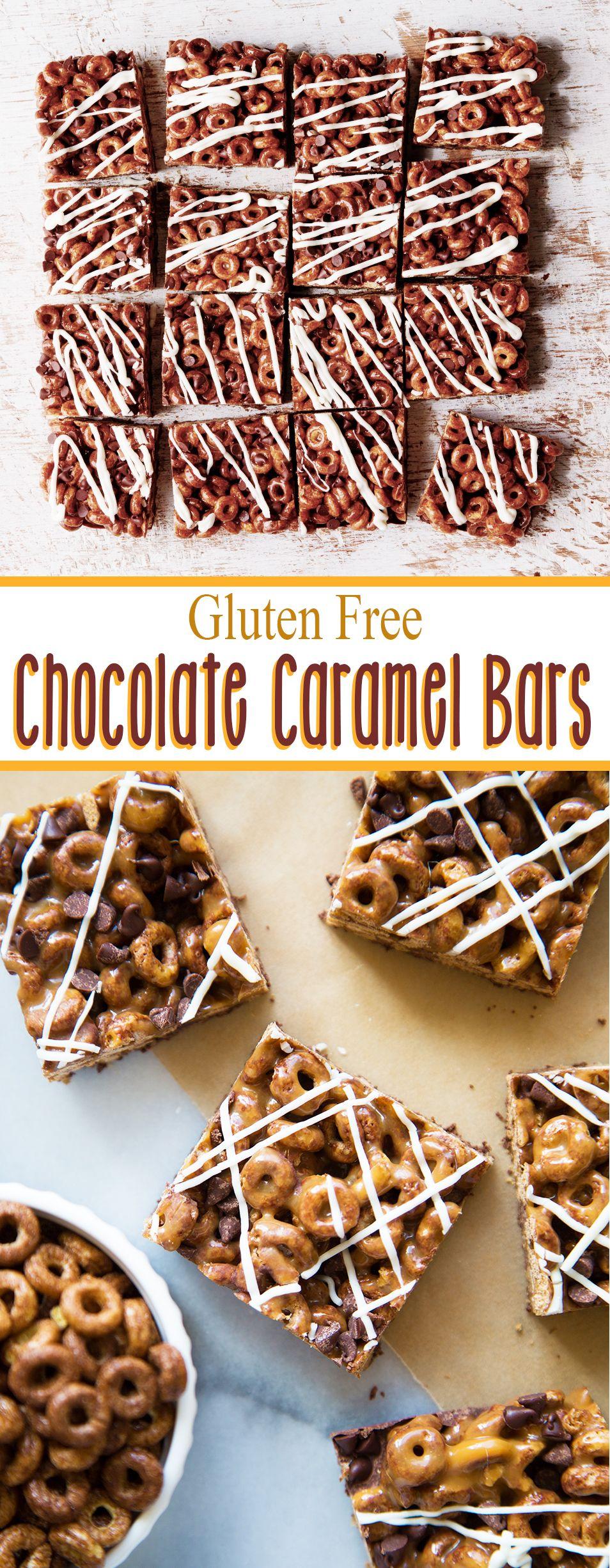 Made with Gluten Free Chocolate Cheerios, dark chocolate