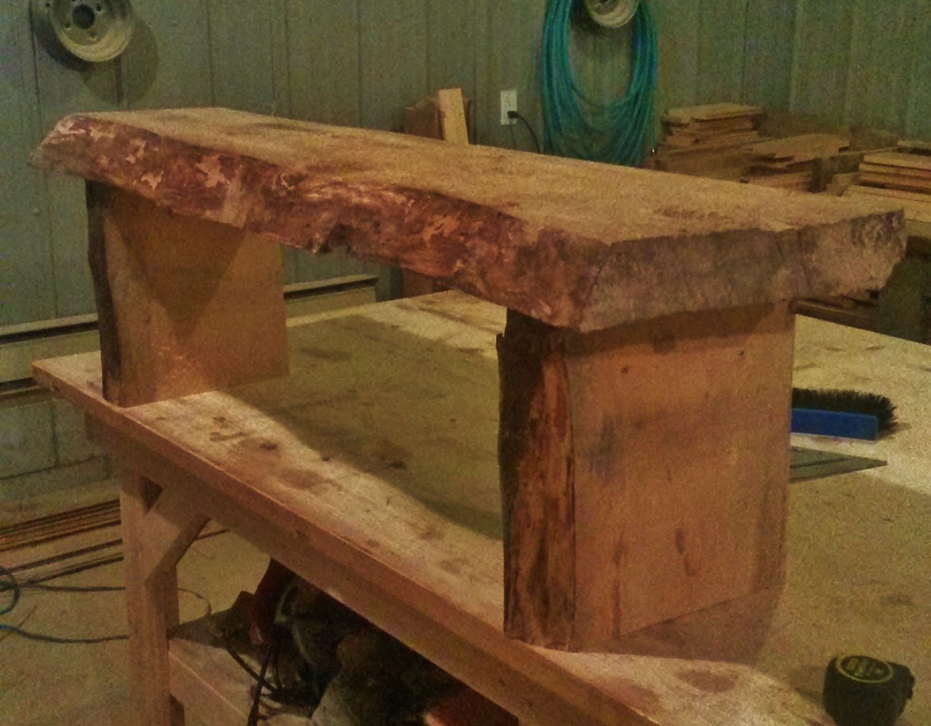 Live Edge Pine Bench Coffee Tables Benches Pinterest