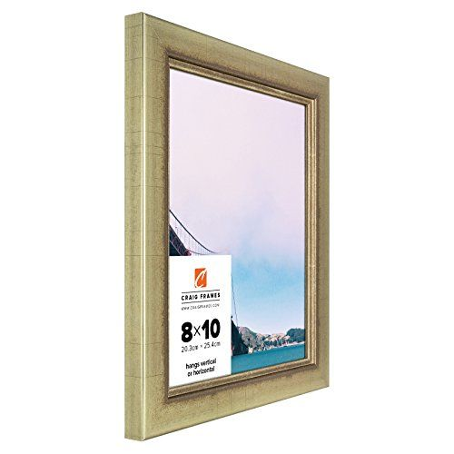 Craig Frames 2231100 12 By 16inch Picture Frame Smooth Wrap Finish 125inch Wide Vintage Gold Craig Frames Frame Picture Frames