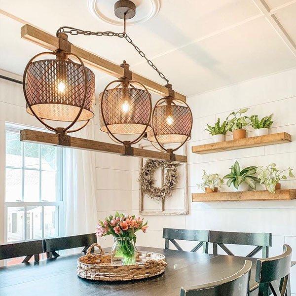 6 Farmhouse Kitchen Lighting Ideas To Brighten Up Your
