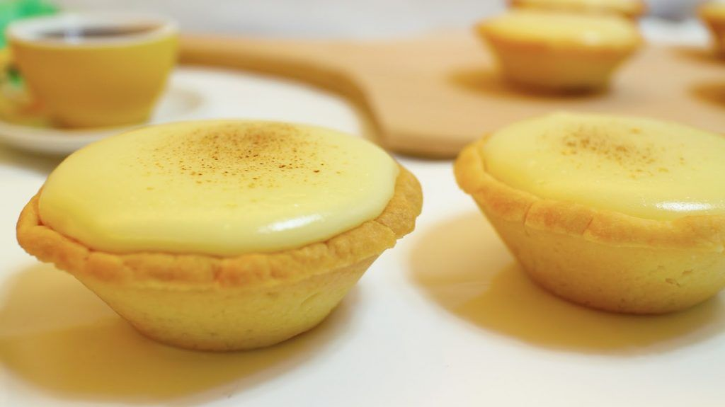 Resep Hokkaido Baked Cheese Tart Paling Gampang Cheese Tart Tart Recipes Mini Tart Recipes Sweet Desserts