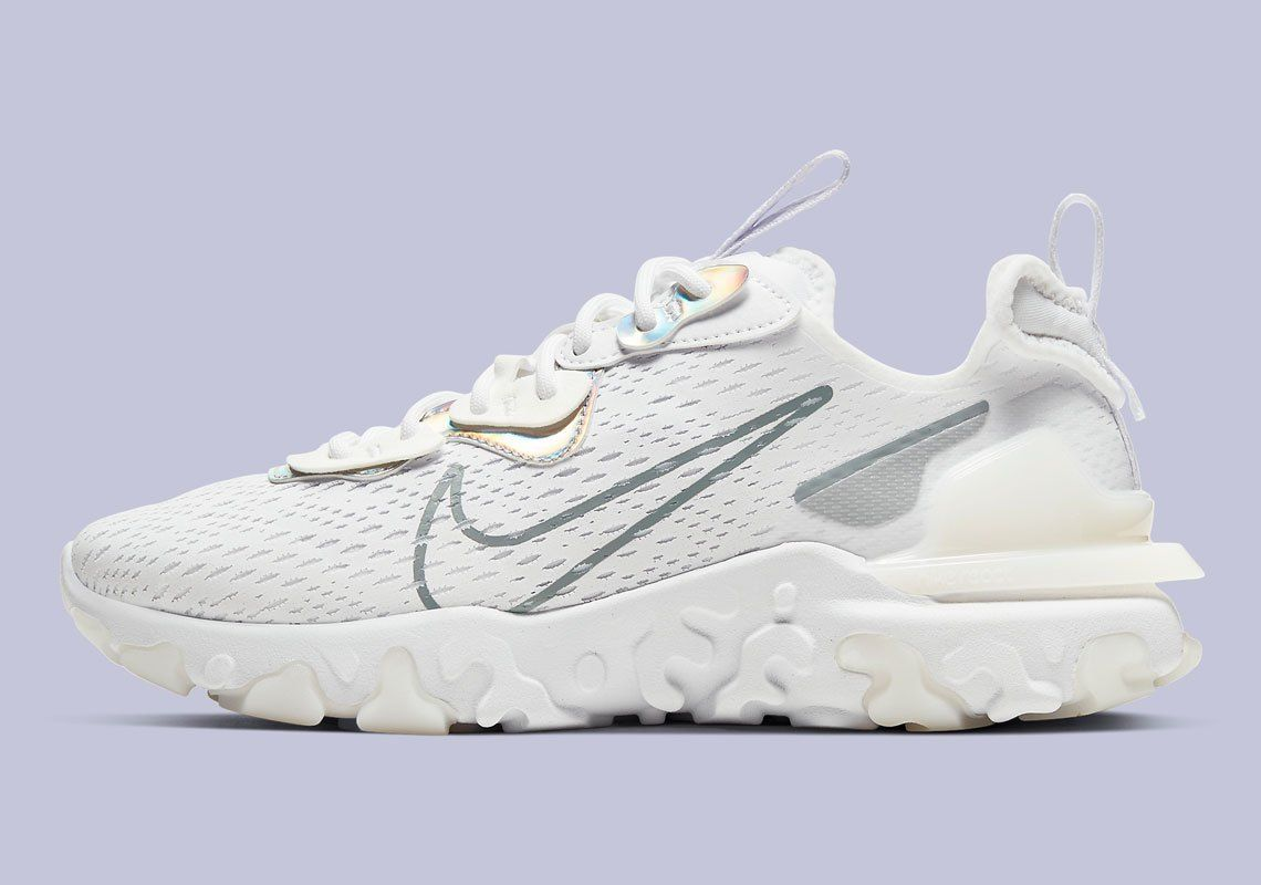 Nike React Vision White Iridescent
