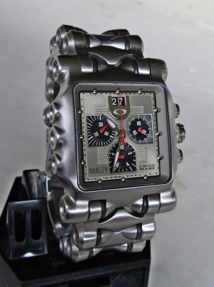 Oakley Time Machine Watch | David Simchi-Levi