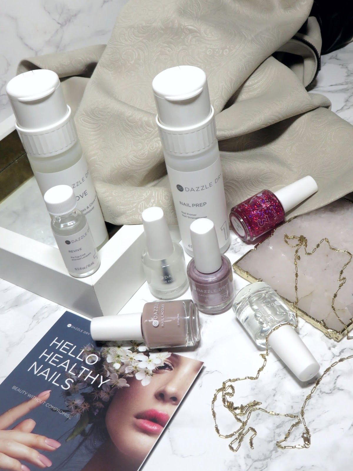 Review Dazzle Dry Nail System the fastest drying