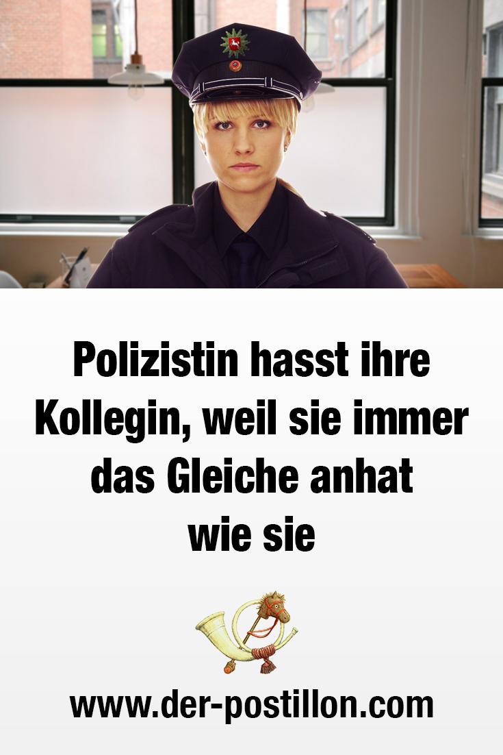 pech polizistin
