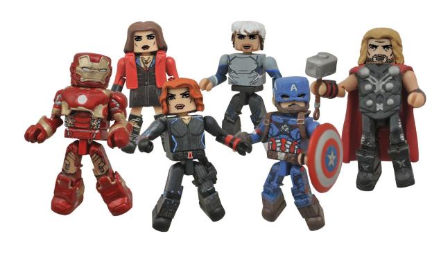 Diamond Select Toys Avengers Age Of Ultron Minimates