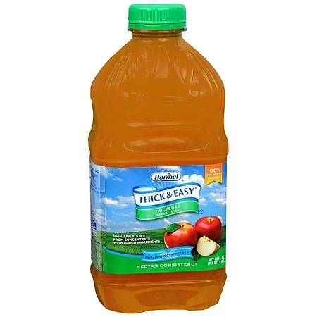 Hormel Thick & Easy Thickened Apple Juice Nectar