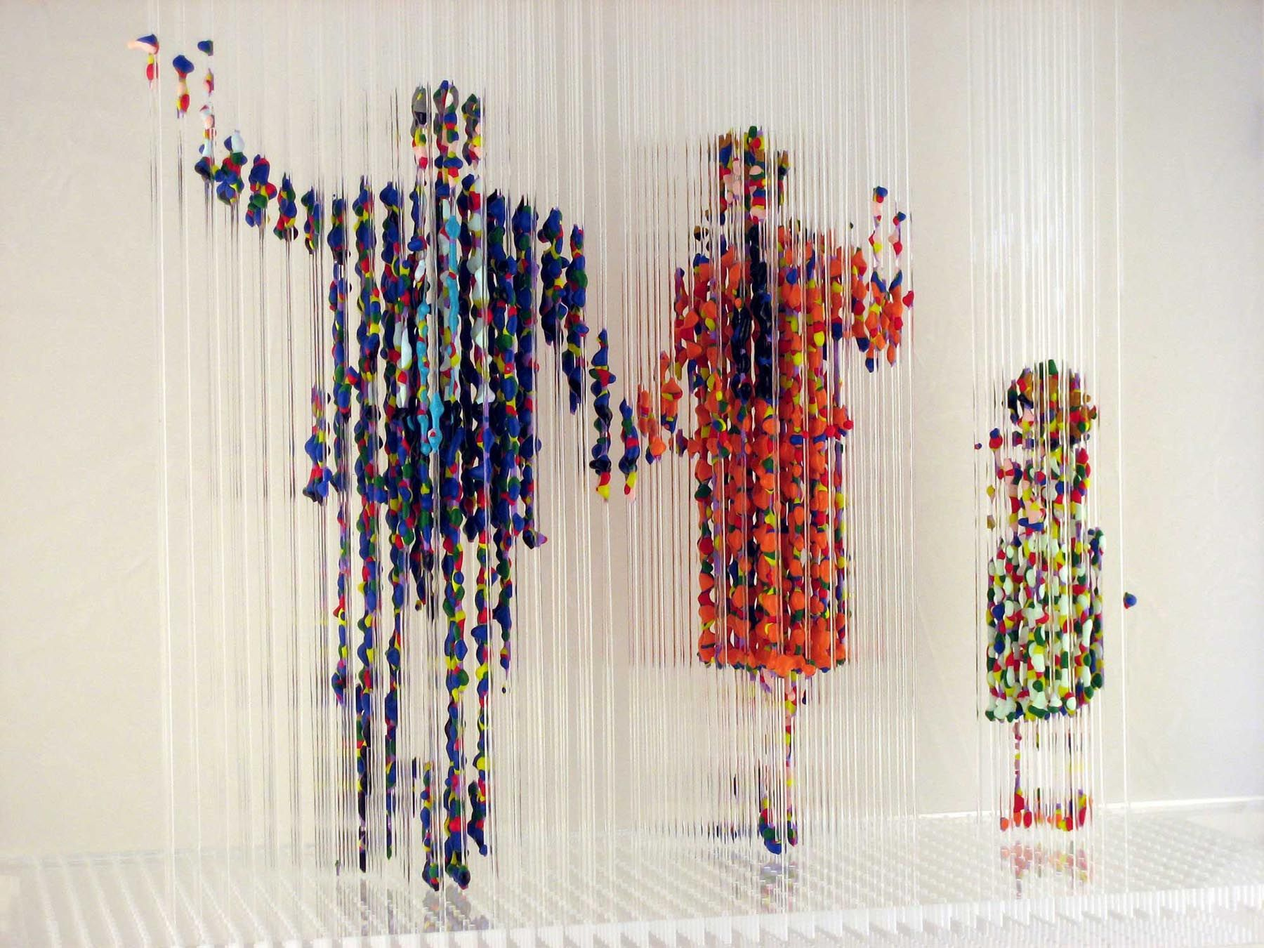 Chris dorosz made of monofilament and paint