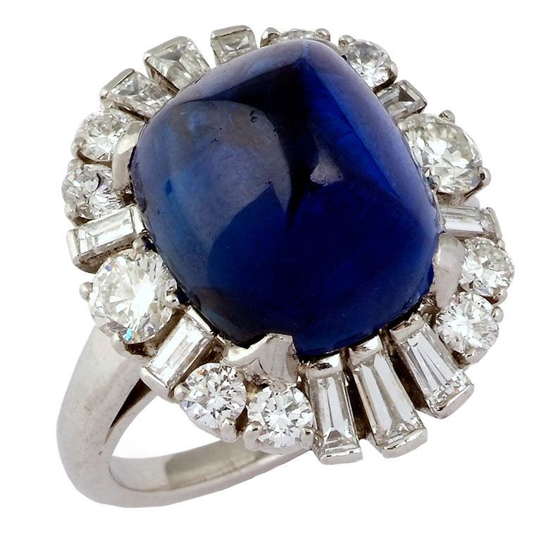 Michael C Fina Amethyst And Diamond Ring