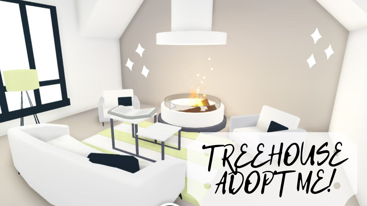 Treehouse Speed Build Adopt Me Youtube Cute Room Ideas Tree House Designs Unique House Design