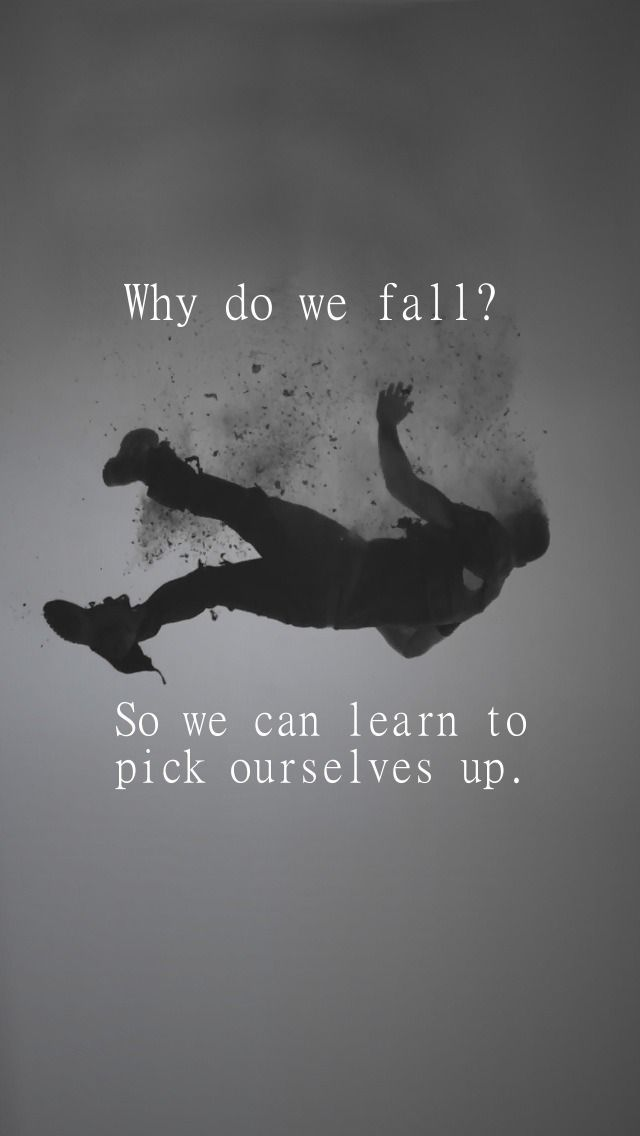 Image Result For Batman Quotes Why Do We Fall Wallpaper Quoting
