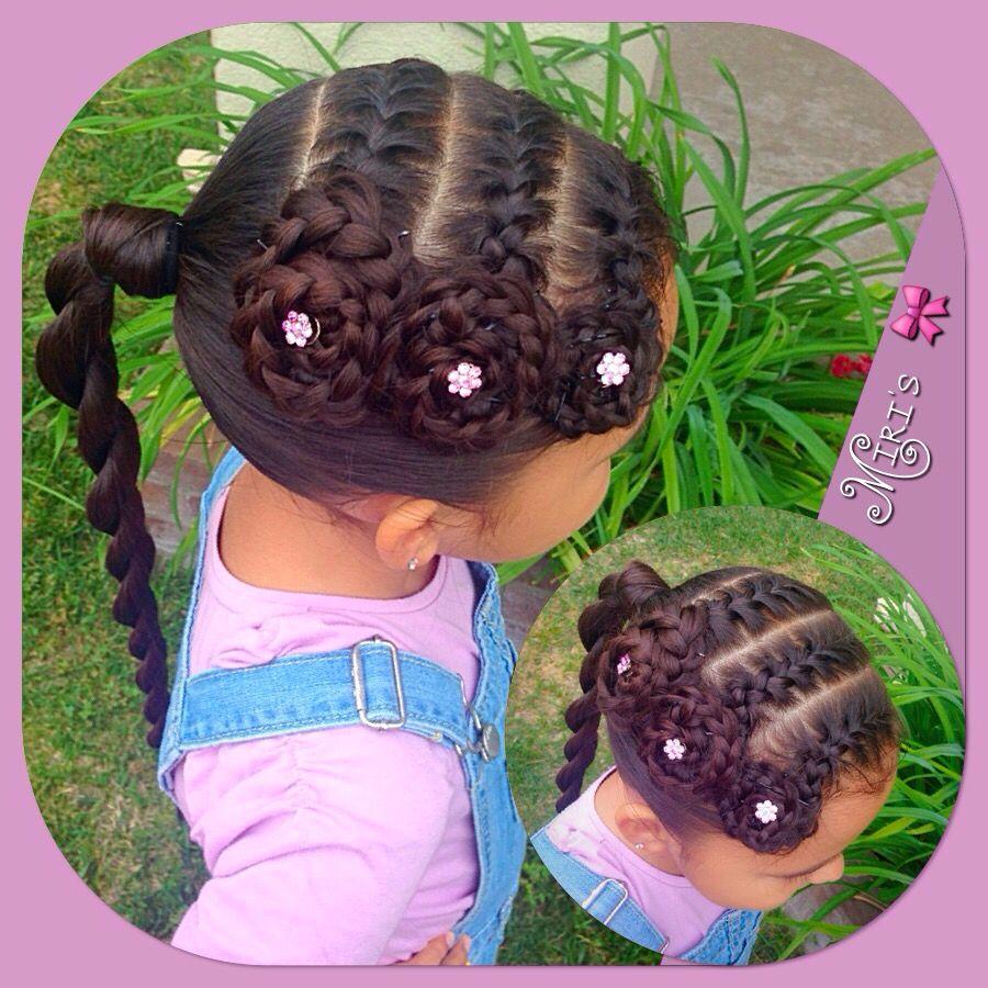 Hair style for little girls peinadosniñas pinterest hair style