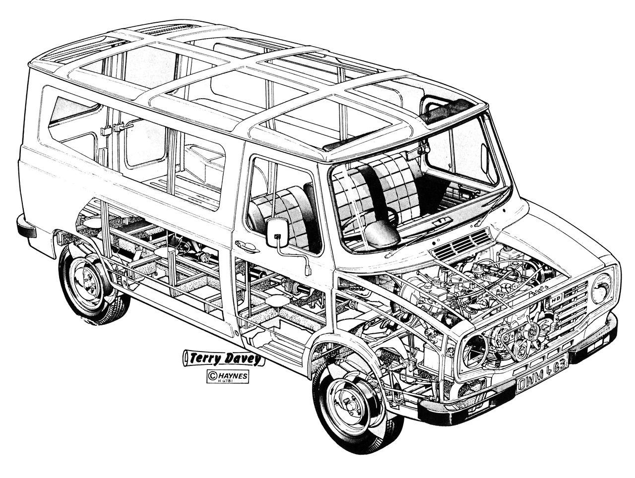 Leyland Vans - Auto Electrical Wiring Diagram on