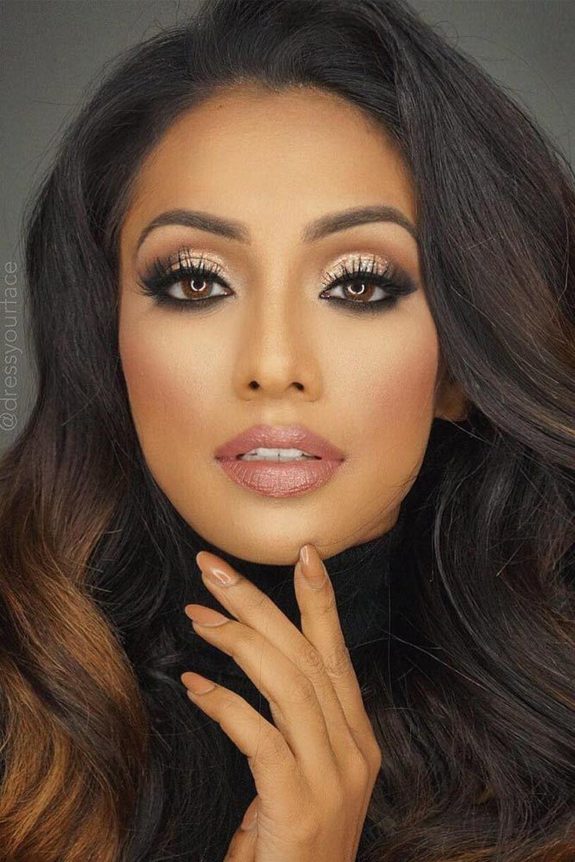 Pin by Geneva Sadler on cezanne  Indian skin makeup, Wedding