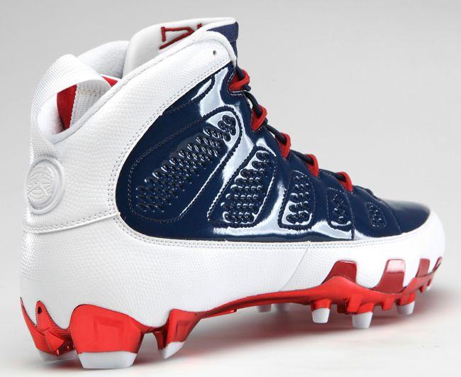 best sneakers 87df6 03461 jordan cleats football   Air Jordan 9 Football KicksOnFire