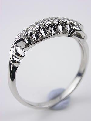Vintage Wedding Ring Rg 3152 Vintage Wedding Rings Topazery