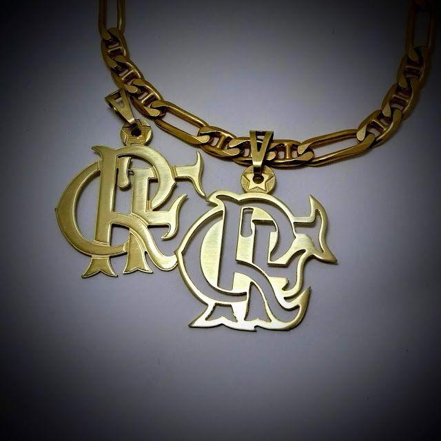 f261f68567455 Pingente do Flamengo com Estrela do Mundial de 1981 ~ Pingentes  personalizados, jóias com a